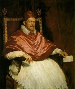 Le Pape Innocent X, Vélasquez